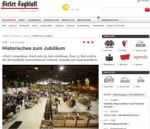 Artikelbild Bieler Tagblatt